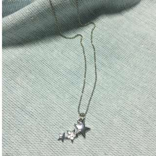 *Ready Stock* Starry Necklace with Crystals