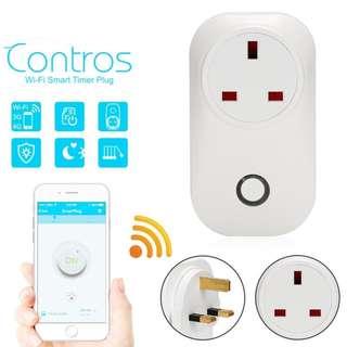S20 Phone Wifi Wireless Remote Control Switch Smart Power UK Socket Plug