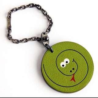 Hermes 愛馬仕 Limited Edition 限量版 蛇年吊飾物鎖匙扣 超罕有