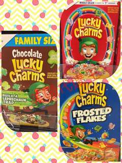 Lucky Charms Cereals 營養粟米片