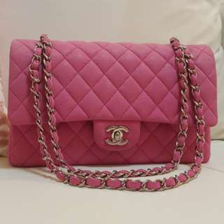 Chanel Classic Flag Barbie Pink