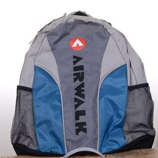 限量商品  airwalk 後背包(藍灰色)