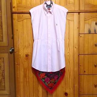 Ralph Lauren Yarmouth shirt skirt vintage