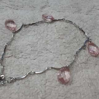 Pink Anklet Bracelet