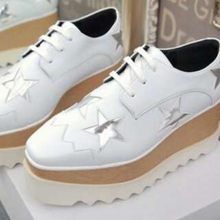Elyse Faux Leather Star Creeper