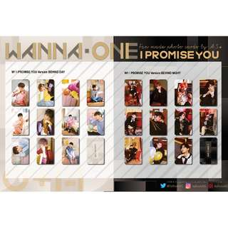 WANNA ONE I PROMISE YOU BEHIND THE SCENES UNOFFICIAL PHOTO CARDS (11PC)