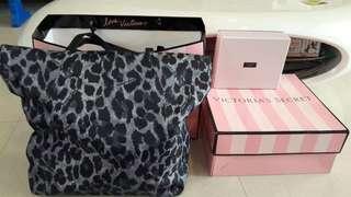 Victoria's Secret Leopard Print Tote Bag