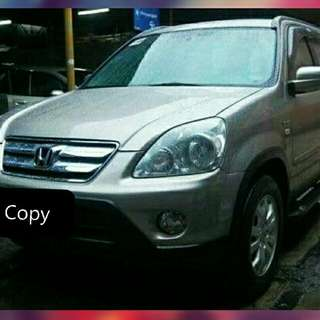 Honda CrV 2005 Second Generation