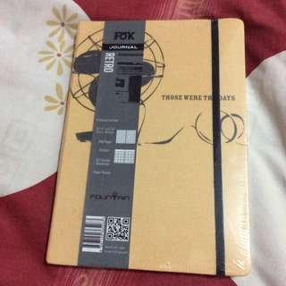 New Yellow Fok Journal Notebook with Hard Cover