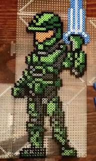 Master Chef Halo hama bead designs
