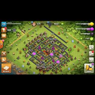 Level 114 Clash of Clans account (Negotiable)