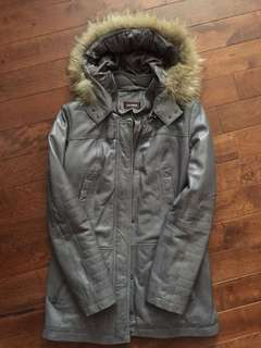 DANIER leather parka.