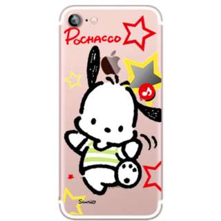 Yes Zone 獨家配件 Pochacco PC狗 SANRIO sanrio iphone X 8 plus 6S samsung NOTE5 小米 手機殻$119 L37