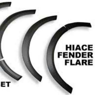 Hiace Fender