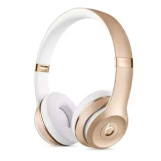 BNIB Beats Solo3 Wireless On-Ear Headphones - Gold