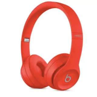 BNIB Beats Solo3 Wireless On-Ear Headphones - Red