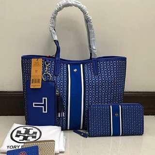 SALE! Tory Burch Hand Bag Set (Bag + Wallet)