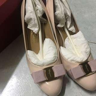 Salvatore Ferragamo Carla Shoes - pale pink