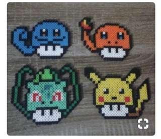 Pokemon mushroom hama designs