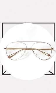 Kacamata fashion Gold !