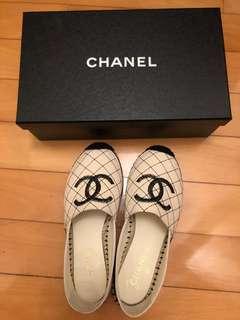 Chanel Espadrilles 新款草鞋漁夫鞋