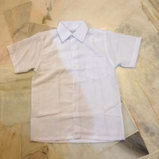 Primary school boy uniform shirt (got 2 units available) #bajet20