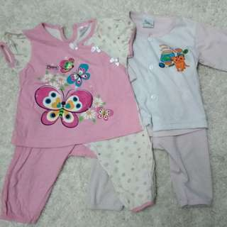 Preloved pyjama baby girl