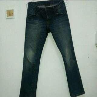 Jeans wanita merk dust