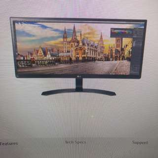 Like new LG ultra wide monitor 29um59p