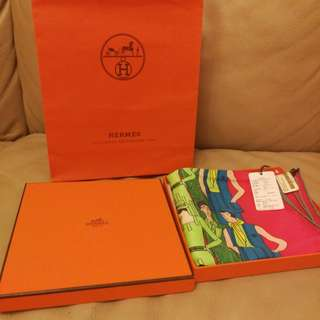 Hermes Scarf 100% Real & New