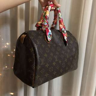 Authentic Louis Vuitton Speedy 30 from Hiroshima