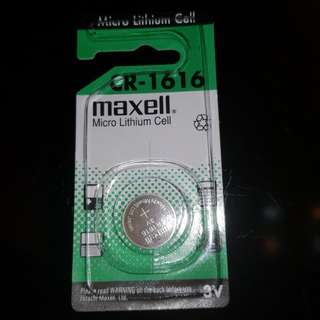 CR1616 Maxell Japan button battery