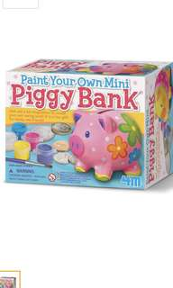 4M paint piggy bank- brand new