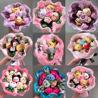 🌹MIX AND MATCH YOUR TSUM TSUM BOUQUET FOR HER