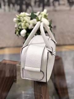 Delvaux 白色小手袋(林心如同款)💕