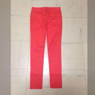 REPRICED! Orange Skinny Jeans