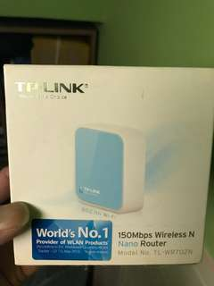 150mbps wireless n nano router TL-WR702N