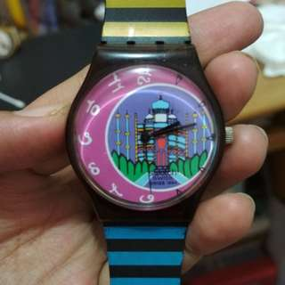 Preloved jam tangan swatch original bekas second seken wanita pria
