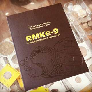 "Coins $1 peringatan RMK-9 tahun 2006 ""rare"".."