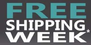 Free shipping today & tomrrow and next week