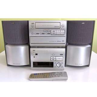 JVC RX-TD5 '90s Classic Loudspeaker Stereo Hifi - Cassette Player & CD & AUX & Radio - Japanese Quality
