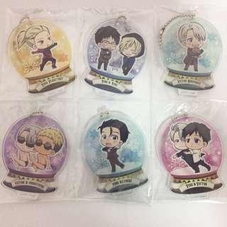 Yuri On Ice TojiKore Acrylic Keychains/Stands