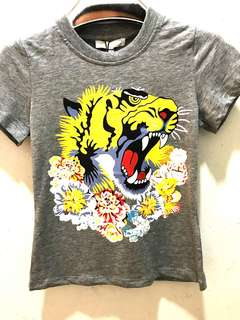🆕👦🏻👧🏻SALE🎉🛍Authentic GUCCI Tiger Head Tee for Kids
