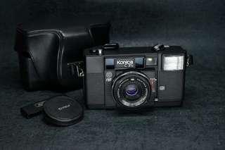 ~🏆 konica c35 af vintage point and shoot 135 film camera 38mm f2.8 lens tested working菲林傻瓜機