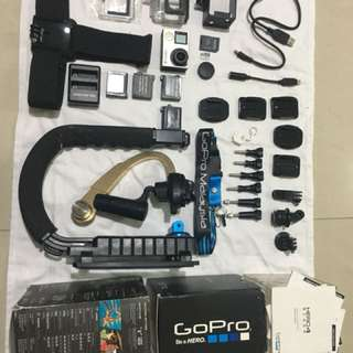GoPro Hero4 black FULL SET