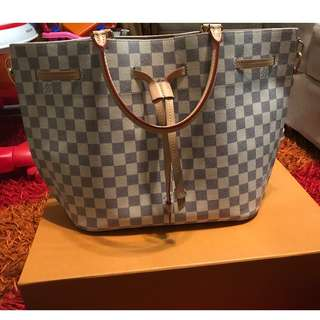 Louis Vuitton GIROLATA  Damier Azur Canvas N41579