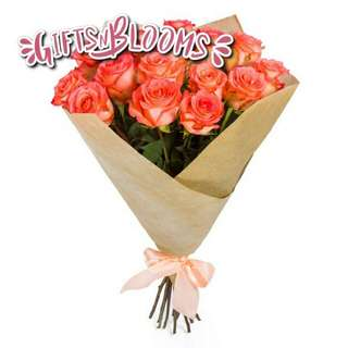 Fresh Flower Bouquet Surprise for Special Anniversary Birthday Gift V113 - FSOKA