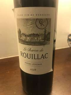 ROUILLIC red wine (city super selling $280)