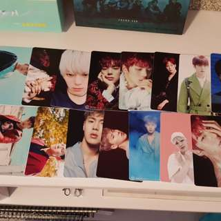 Monsta x unofficial photocards kpop