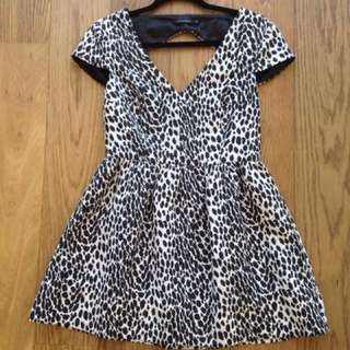 Portmans Print Dress - Size 10